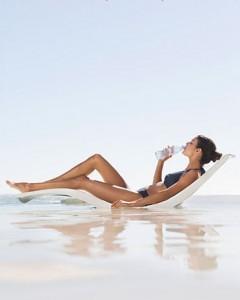Wasser für die Gewichtsabnahme