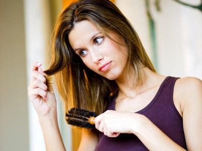 Schaden Keratin für die Haare