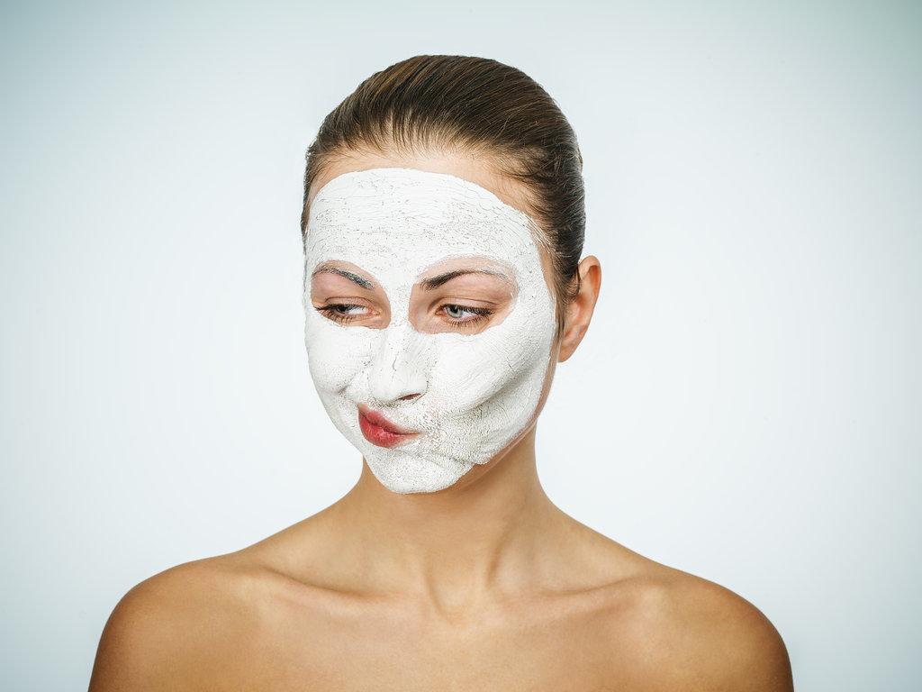 Probleme mit der Haut. Akne