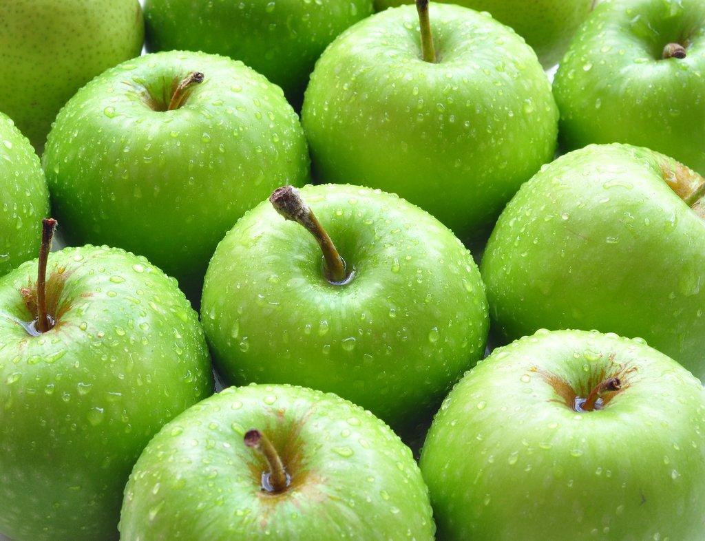 Hausgemachte Schönheit Rezepte. Grüner Apfel