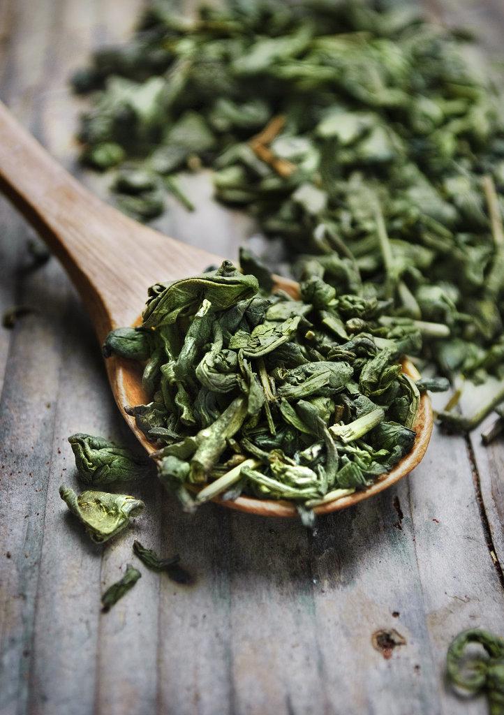 Hausgemachtes Beauty-Rezept. Grüner Tee