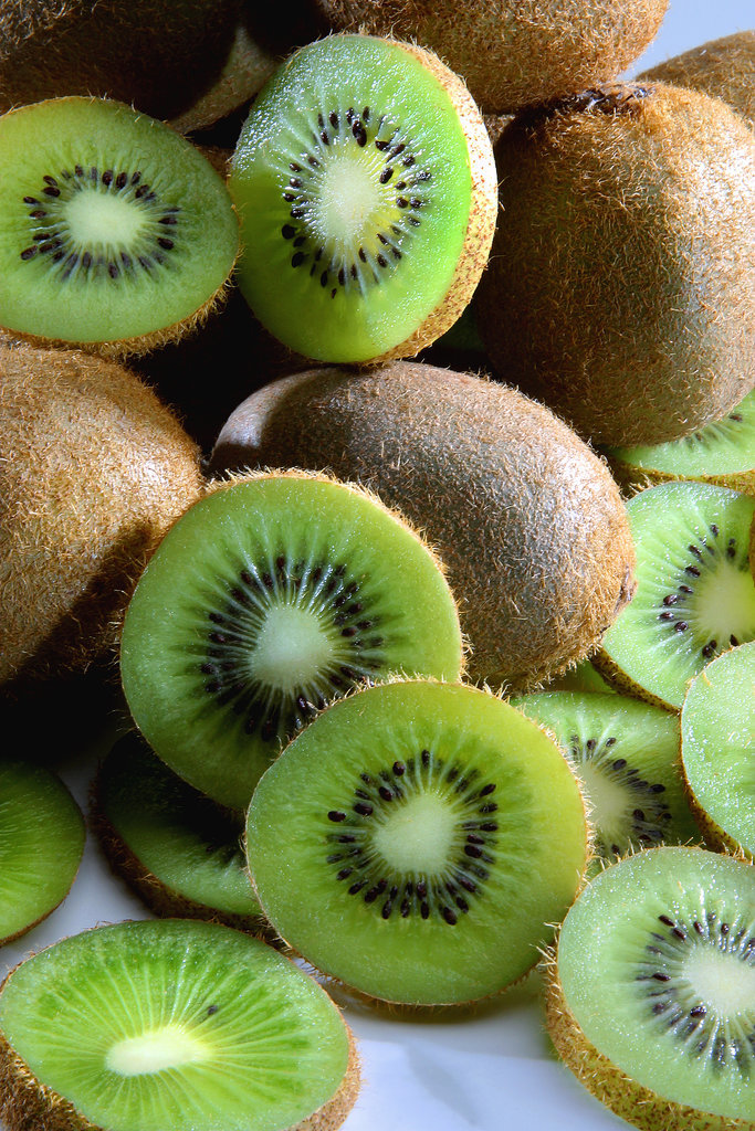 Hausgemachtes Beauty-Rezept. Kiwi
