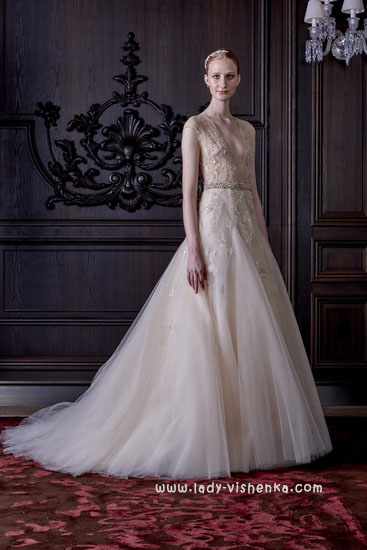 Schöne Hochzeit Kleid - Foto Monique Lhuillier