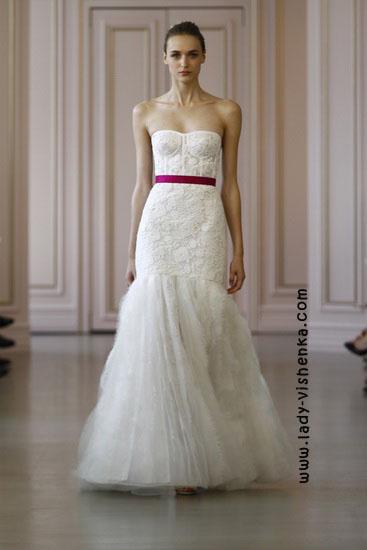 Modische Hochzeit Kleider 2016 Foto Oscar De La Renta
