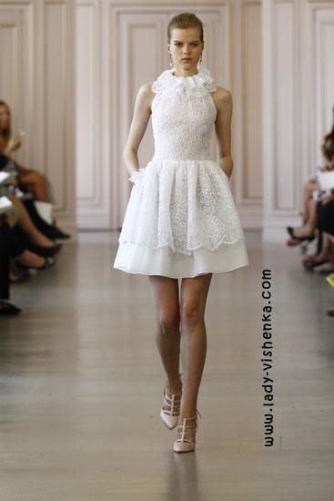 Kleines Hochzeits-Kleid Oscar De La Renta