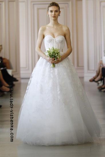 Stilvolle Hochzeit Kleider von Oscar De La Renta
