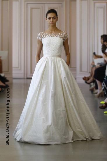 Prinzessin Brautkleid von Oscar De La Renta