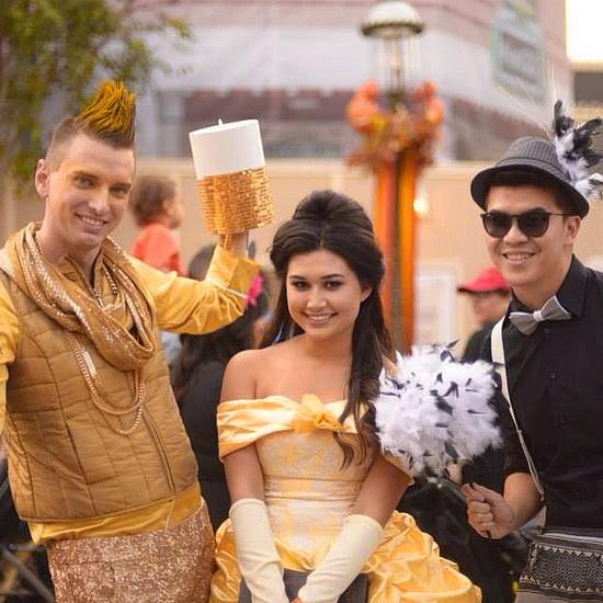 die Idee der Kostüm an Halloween - BELLE