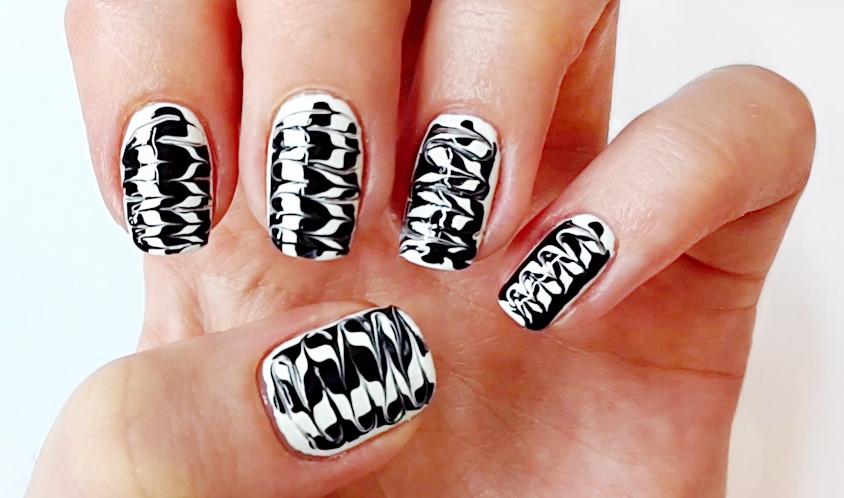 Необычный дизайн ногтей