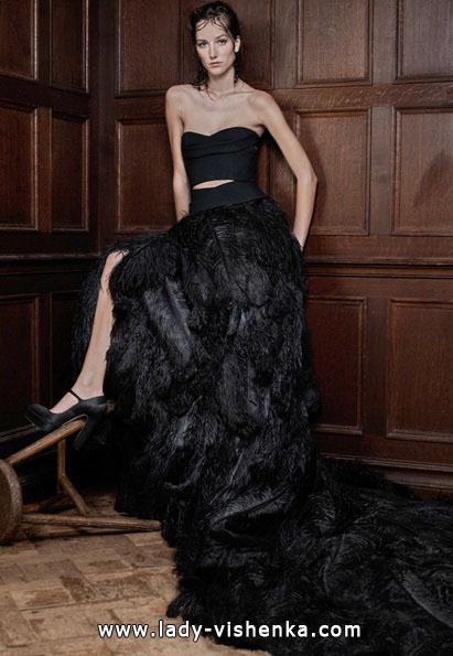 das Schwarze brautkleid 2016 - Vera Wang