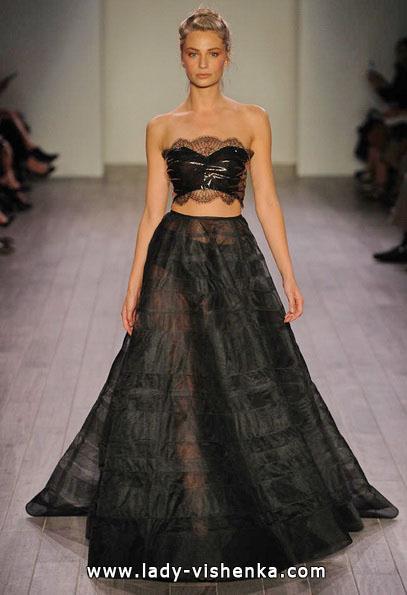 Hochzeitskleid in der Farbe schwarz 2016 - Hayley Paige