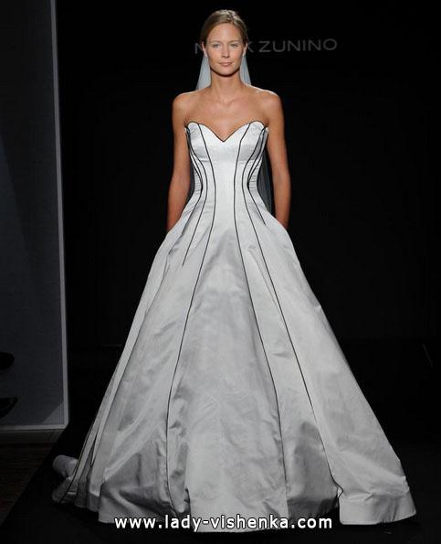 Schwarz-weißes Hochzeitskleid-Foto - Mark Zunino