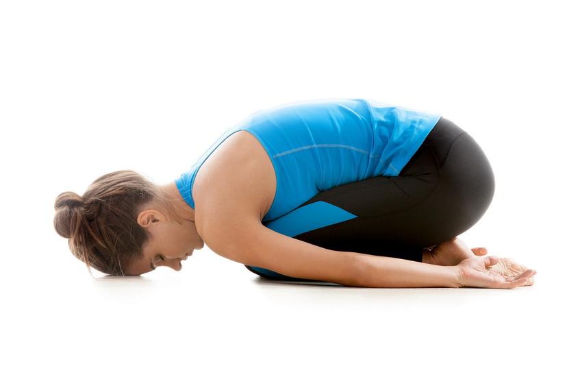Haltung des Kindes - Yoga-übungen