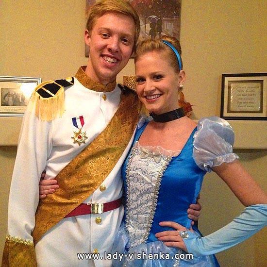 Kleidung für Halloween - Cinderella