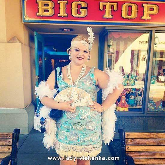 Cinderella auf den Halloween - Retro