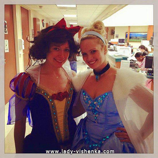 Cinderella Outfit für Halloween-Party für Mädchen