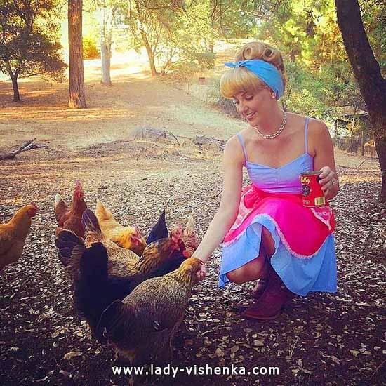 Bild von Cinderella auf den Halloween für Mädchen
