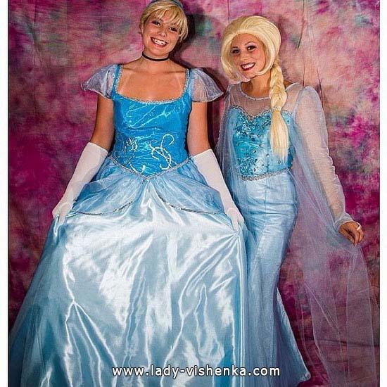Bild von Cinderella auf den Halloween