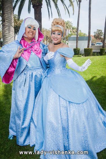 Kleid von Cinderella auf den Halloween für Mädchen