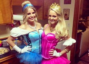 Cinderella auf den Halloween - all Kostüm Ideen