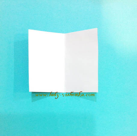 Papier-Weihnachtsmann