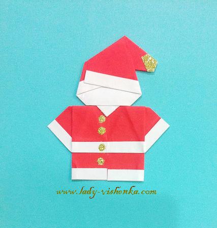 Weihnachtskarte handgefertigt