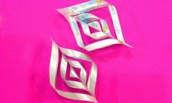 3d Schneeflocken aus papier