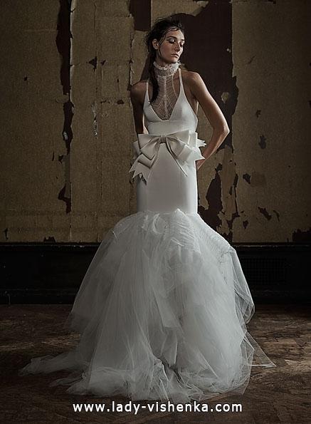 Hochzeitskleid Fisch ohne Feder - Vera Wang