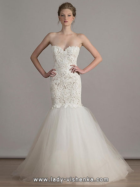 die kleine Meerjungfrau Hochzeitskleid 2016 - Liancarlo