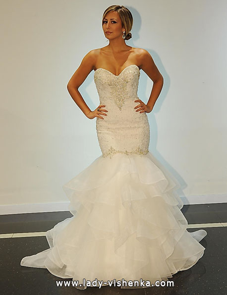 die kleine Meerjungfrau Brautkleid - Simone Carvalli