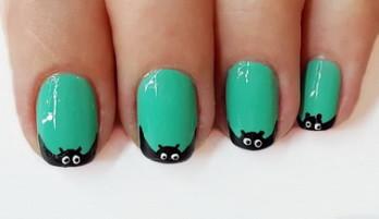 Nail Design Halloween — Schläger