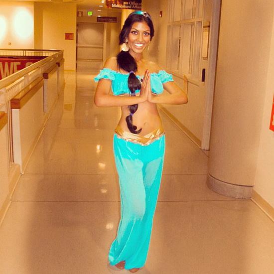 Jasmin Kostüm Halloween für Mädchen