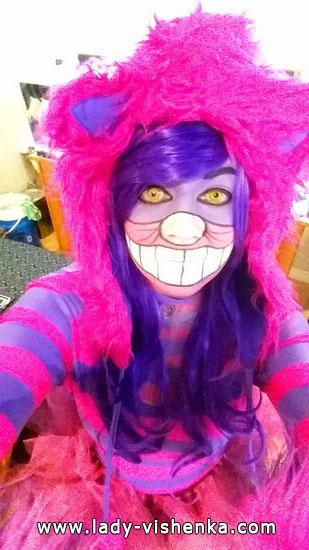 Image Черширской Katzen an Halloween für Mädchen