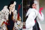 Kostüm Cruella auf Halloween