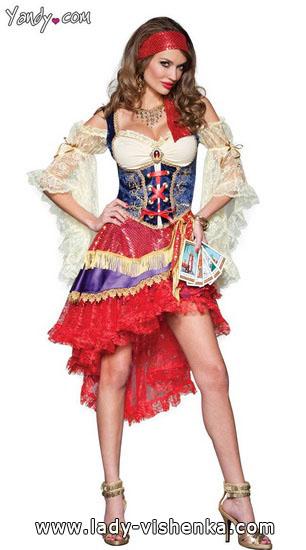 Kurze Kostüm Esmeralda