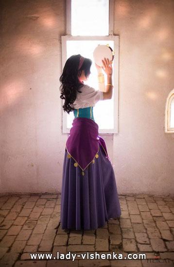 Kleid für Halloween - Esmeralda