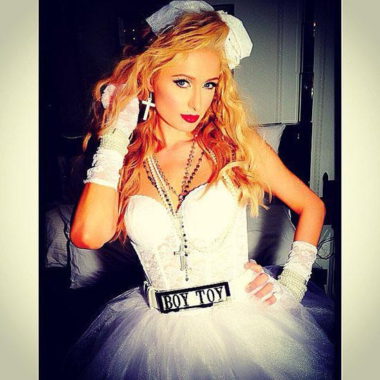 Paris Hilton an Halloween