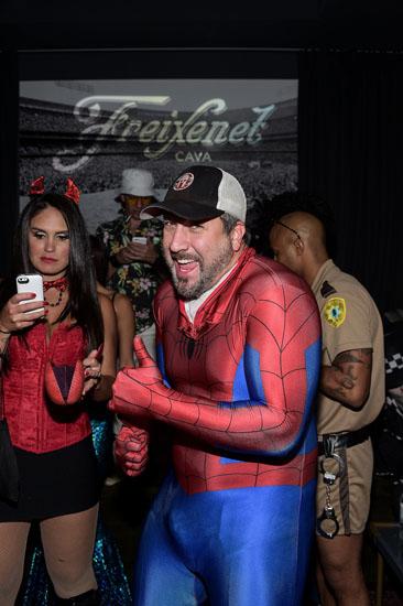 Spider - man zu Halloween