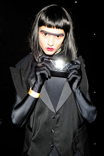 Halloween-Kostüm - die Dunkle Seite