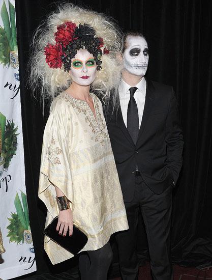 Promi-Halloween-Kostümen - die Tote Braut
