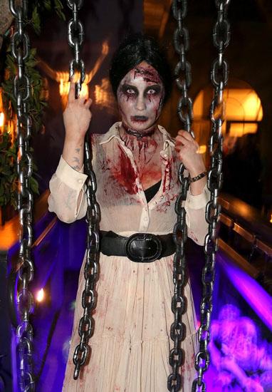 Promi-Halloween-Kostümen - Zombies