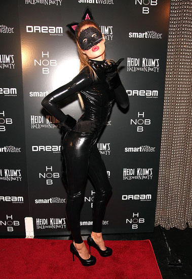 Promi-Kostümen auf Halloween - Catwoman