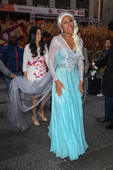 Promi-Halloween-Kostümen - Elsa