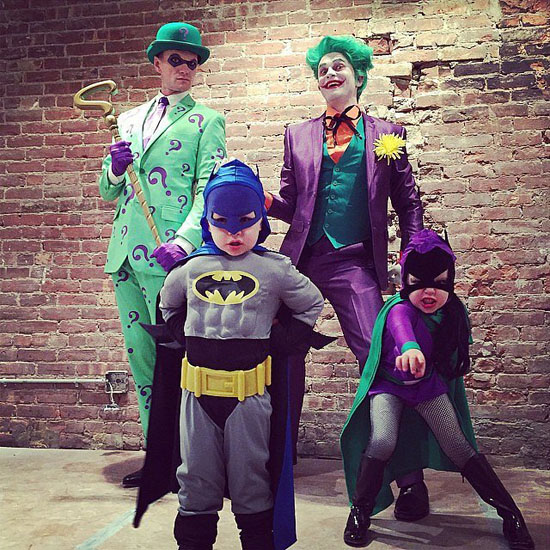 Batman mit Freunden - Halloween-Kostüme
