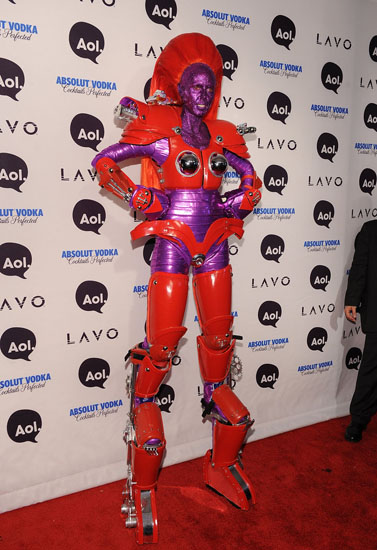 Promi-Halloween-Kostümen - Roboter