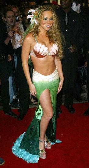 Promi-Halloween-Kostümen - die kleine Meerjungfrau von Марайя Kerry