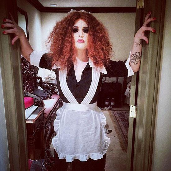 Promi-Halloween-Kostümen - Magenta