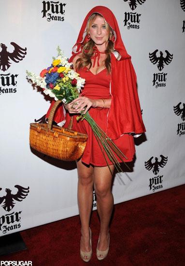 Lo Bosworth im Kostüm Rotkäppchen Halloween