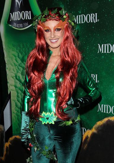 Promi-Halloween-Kostümen - Poison Ivy