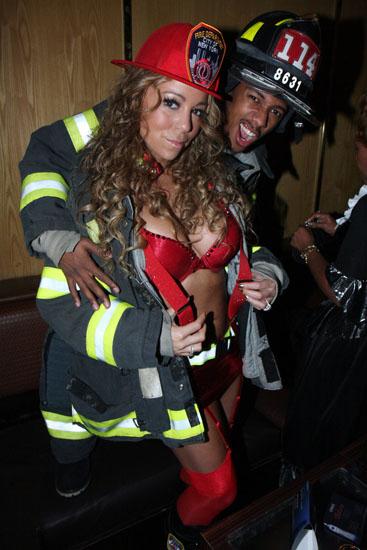 Promi-Halloween-Kostümen - die Feuerwehr